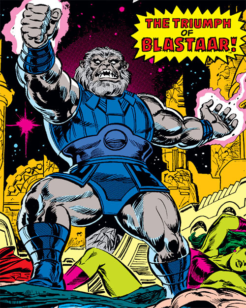 Blastaar (Marvel Comics) vs. the Avengers