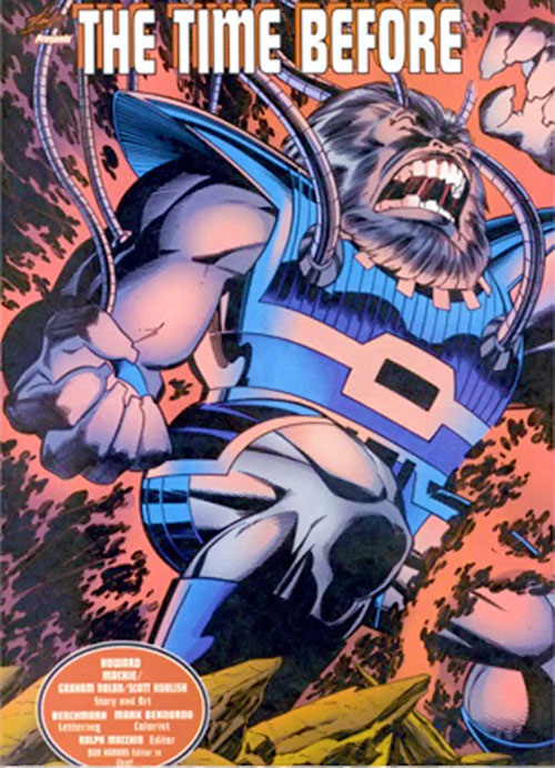 Blastaar (Marvel Comics) yelling and surrounded by energy
