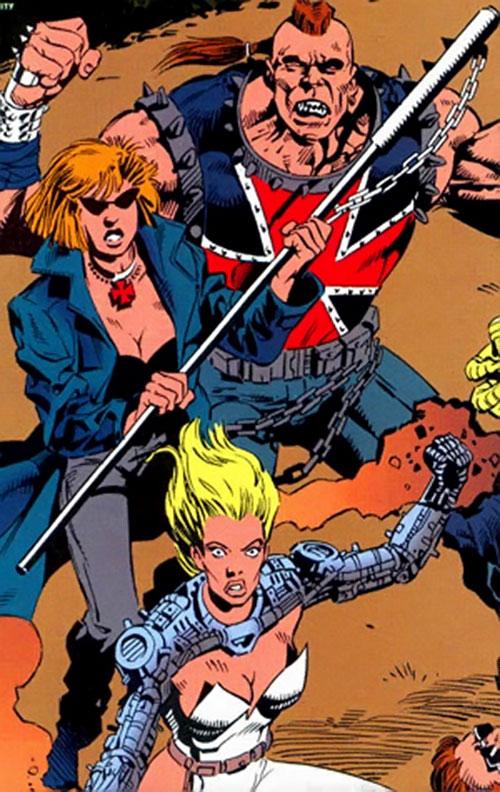 Blind Faith, Iron Cross and Heatmonger of the Cadre / Aryan Brigade (DC Comics)
