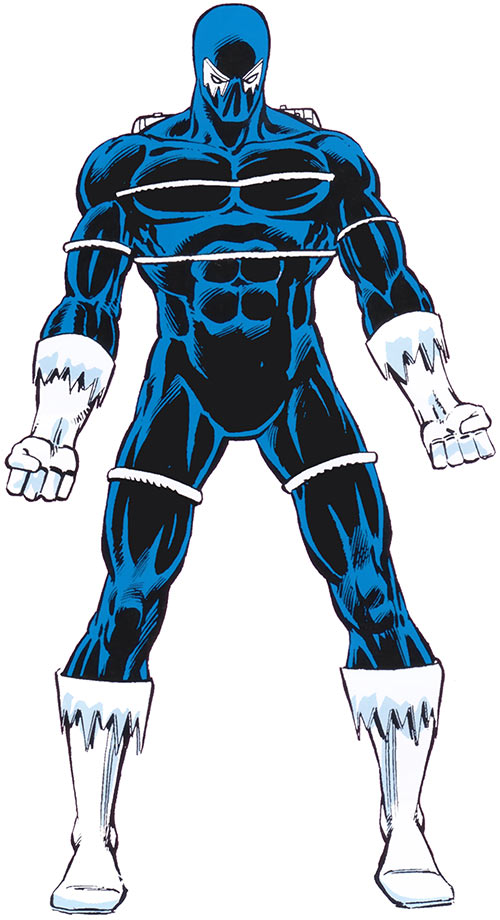Blizzard (Shapanka) (Iron Man enemy) with the blue suit