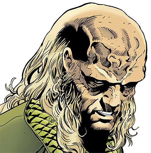 Blockbuster (Roland Desmond) (DC Comics) (Nightwing enemy) face closeup