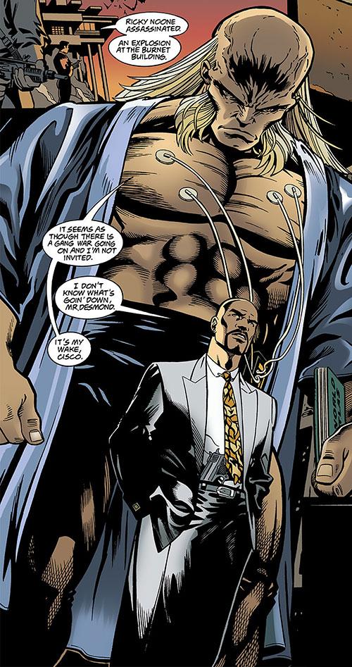 Blockbuster (Roland Desmond) (DC Comics) (Nightwing enemy) is gigantic