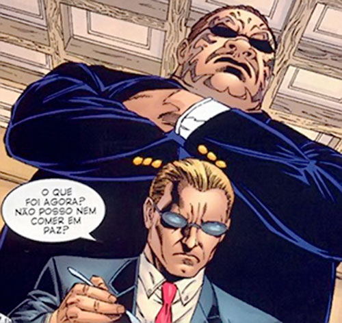 Blok (Mister X bodyguard) (Marvel Comics)