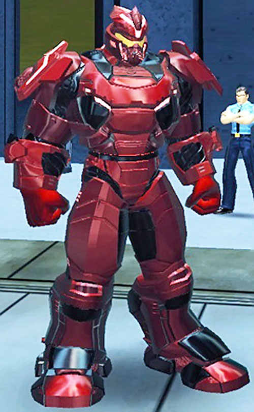 Bloodforce power armor (DC Heroes RPG)