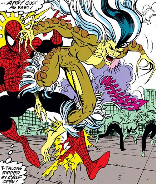 Bloodlust of the Femmes Fatales (Marvel Comics) vs. Spider-Man