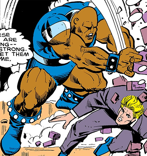 Bludgeon (Captain America enemy) (Marvel Comics) vs. D-Man