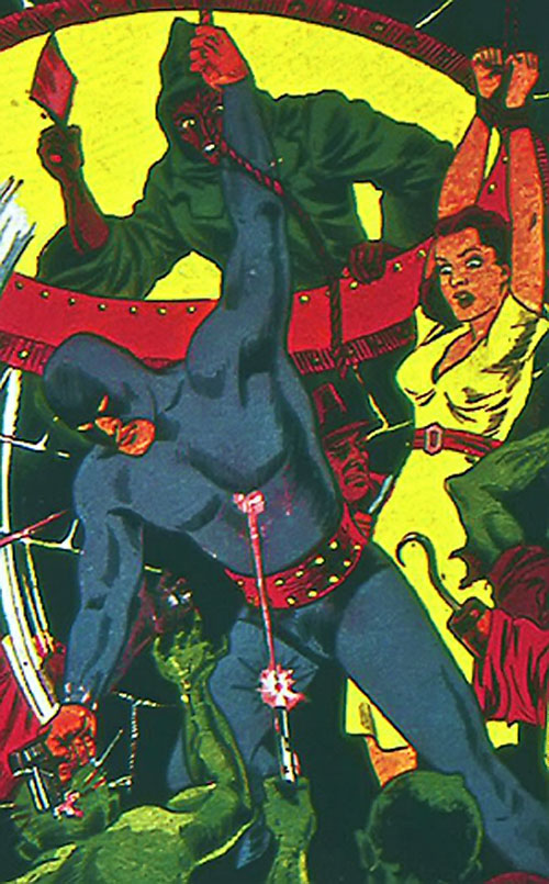 Blue Blaze (Timely Comics) cover art