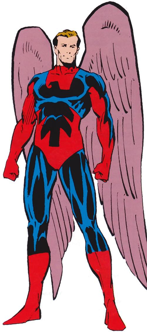 Blue Eagle (Squadron Supreme) (Marvel Comics) 1985 official handbook