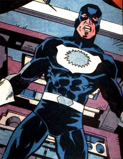 Blue Shield (Marvel Comics) defiant