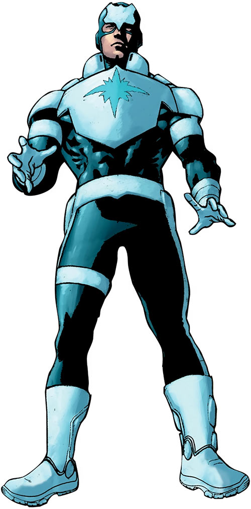 blue shield - marvel comics - project pegasus