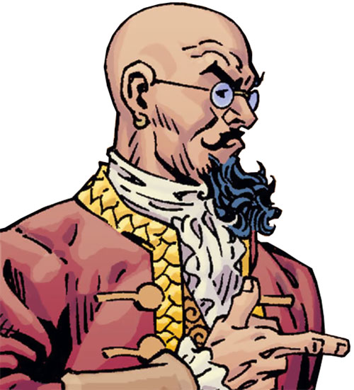 Bluebeard of the Fables (DC Comics) side portrait