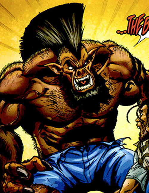 The Boar (Bet Ray Bill enemy) (Marvel Comics)