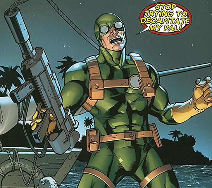 Bob, Agent of Hydra expresses solidarity