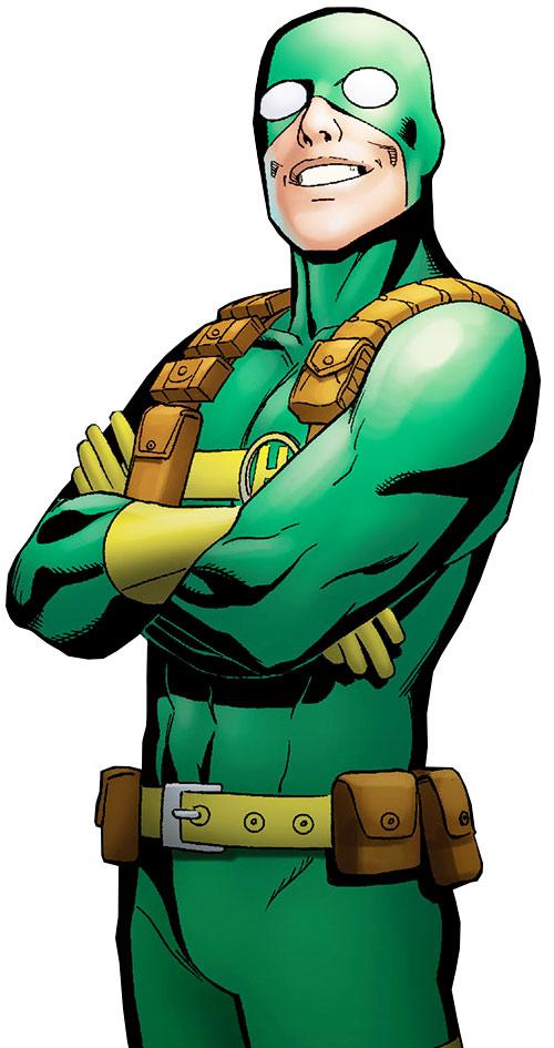 Bob, agent of Hydra (Deadpool ally) (Marvel Comics) smiling