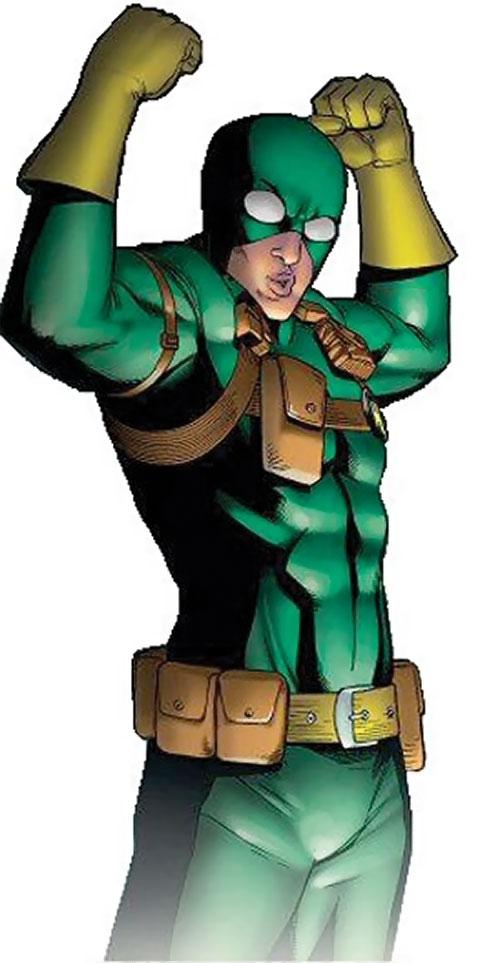 Bob, agent of Hydra (Deadpool ally) (Marvel Comics) flexing