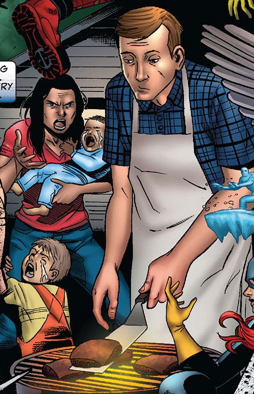 Bob, agent of Hydra (Deadpool ally) (Marvel Comics) as a civilian