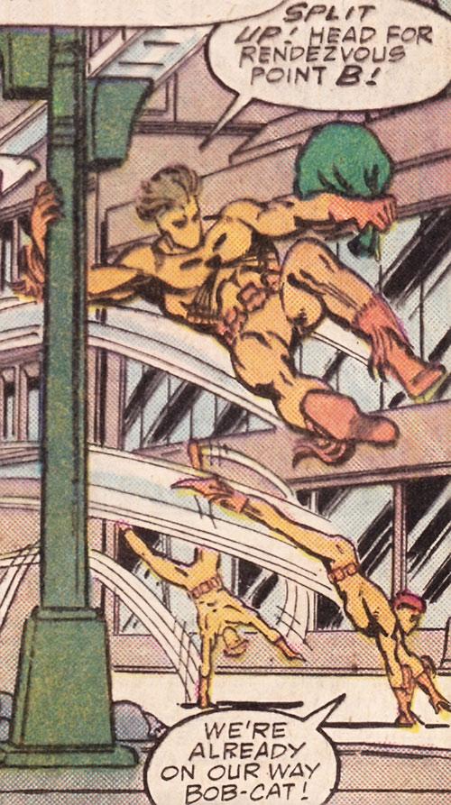 Bobcat (Marvel Comics) and his men