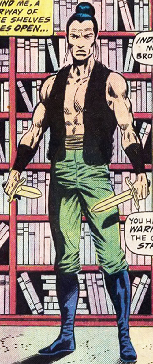 Bolo (Master of Kung Fu enemy) (Marvel Comics)