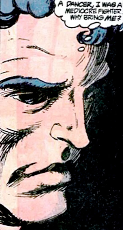 Bolshoi (DC Comics) face closeup