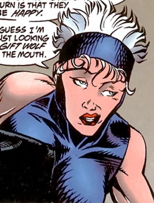 Bomber (Dark Horse Comics) sneering
