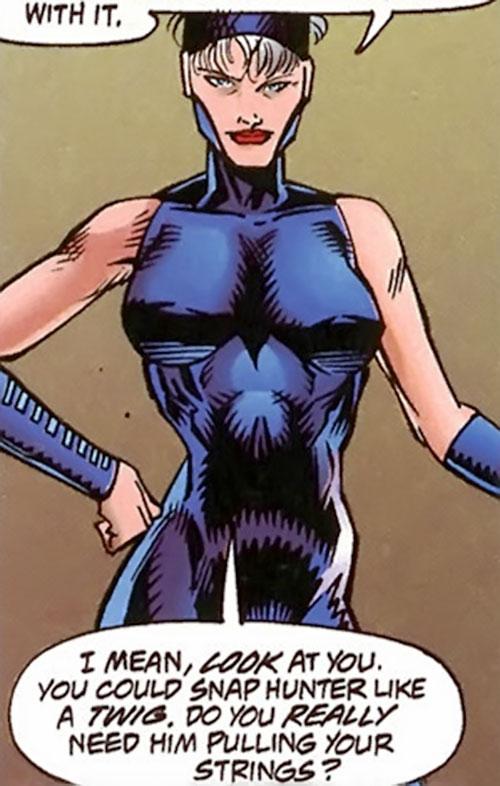 Bomber (Dark Horse Comics) smirking