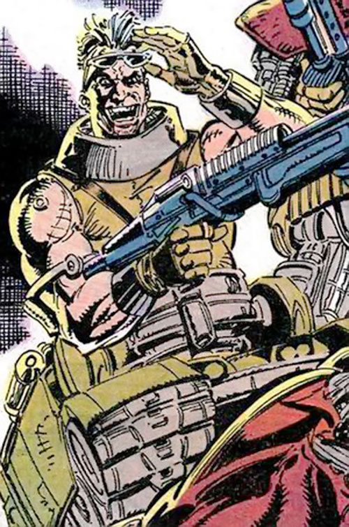 Bonebreaker of the Reavers (X-Men enemy) (Marvel comics)