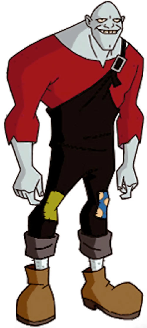 Bonk of the Jokerz (Batman Beyond enemy) (DC animated)