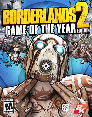 Borderlands 2 video game of the year edition cover