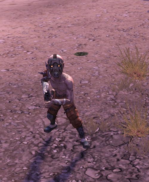 Borderlands - midget shotgun bandit