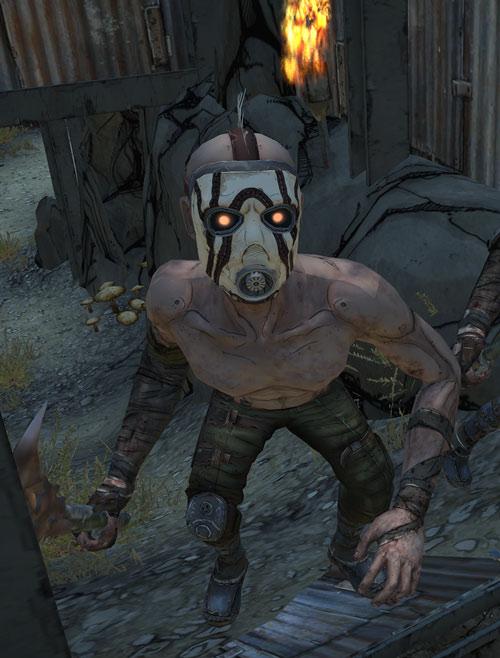 Borderlands - psycho midget bandit
