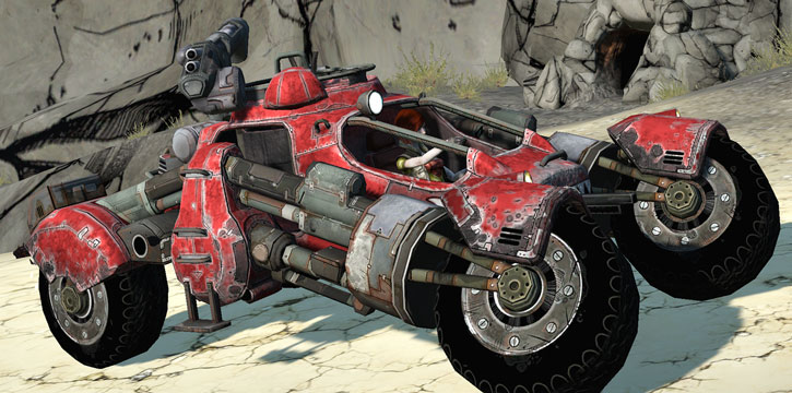 Borderlands - buggy car FAV