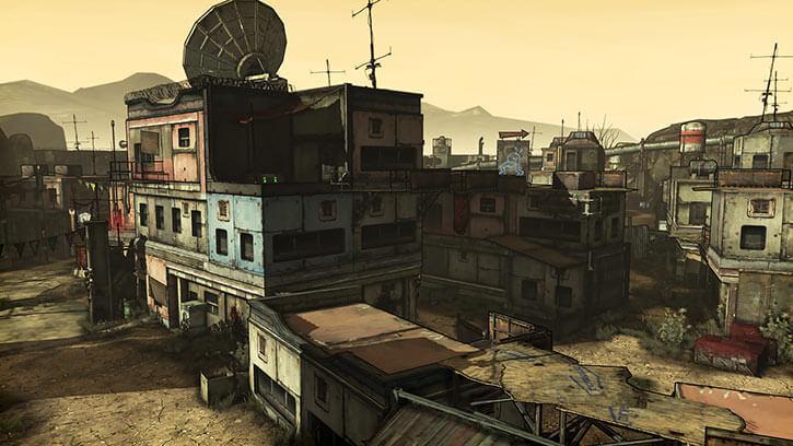Borderlands game setting RPG - Old Haven