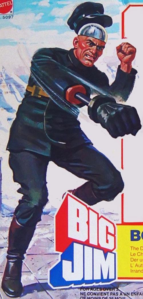 Boris the Devious Chauffeur (Big Jim action figure)