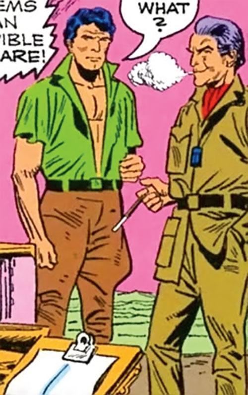 Brad Carter (Bloodstone ally) (Marvel Comics)