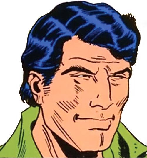Brad Carter (Bloodstone ally) (Marvel Comics) color face closeup