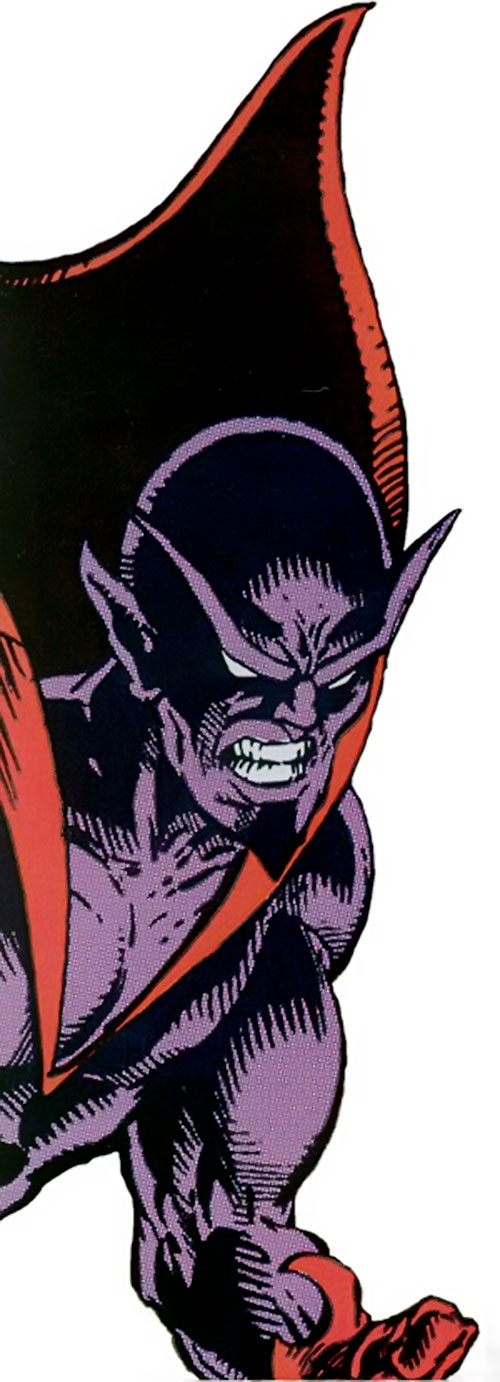 Brahl of Force (Guardians of the Galaxy enemy) (Marvel Comics) closeup