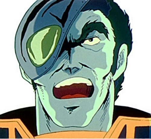 Breetai of the Zentraedi (Robotech) face closeup