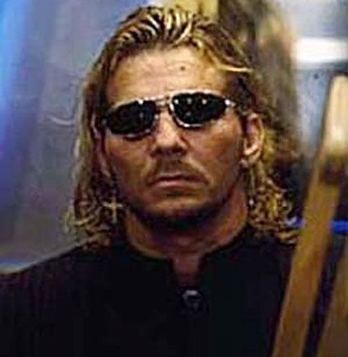 """Brian """"the Loose Cannon"""" Pillman with dark sunglasses"""