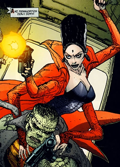 The Bride of Frankenstein (7 Soldiers) (DC Comics)