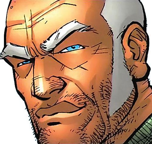 Brit (Image Comics Kirkman) face closeup