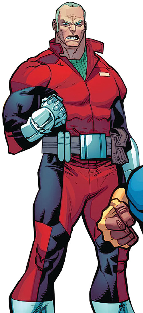 Brit (Image Comics Kirkman) red and black jumpsuit