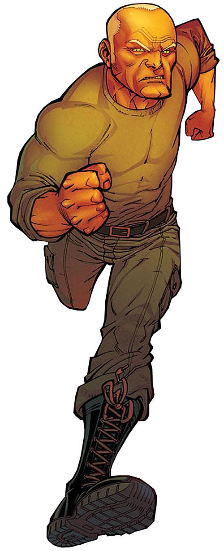 Brit (Image Comics Kirkman) running in fatigues