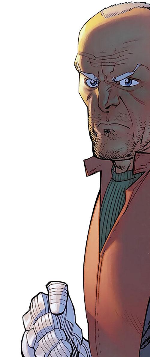 Brit (Image Comics Kirkman) outraged