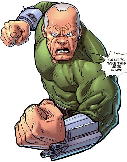 Brit (Image Comics Kirkman) with technological bracers