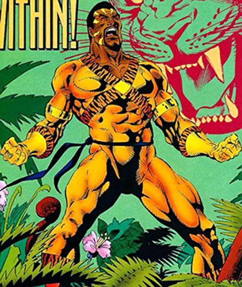 Bronze Tiger (Ben Turner) (DC Comics) raging