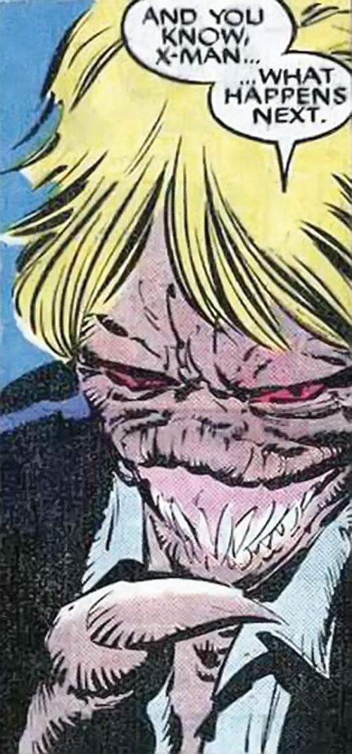 Brood Mutants (X-Men enemies) (Marvel Comics) Harry Palmer hybrid form