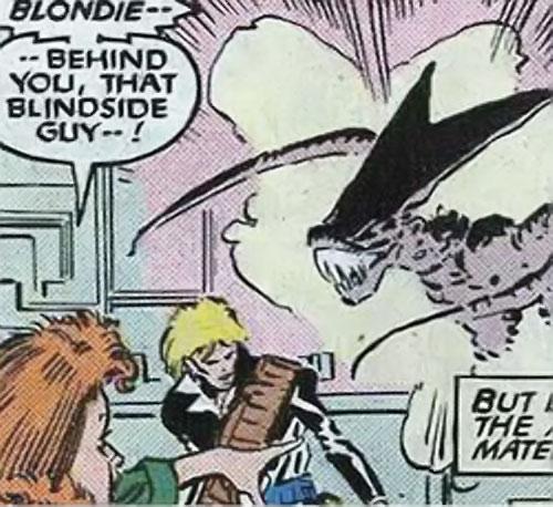 Brood Mutants (X-Men enemies) (Marvel Comics) Blindside