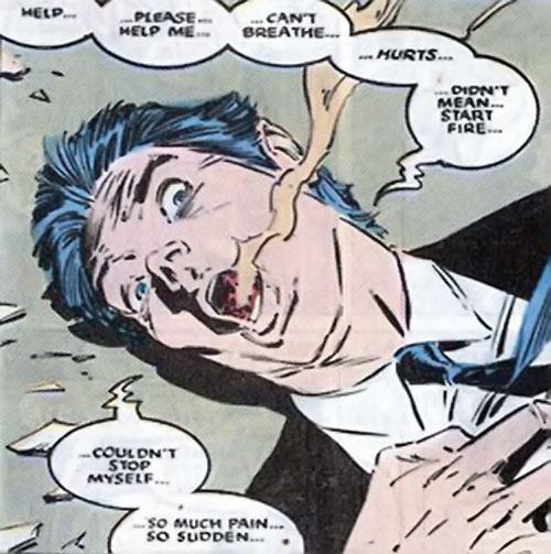 Brood Mutants (X-Men enemies) (Marvel Comics) Spitball human form