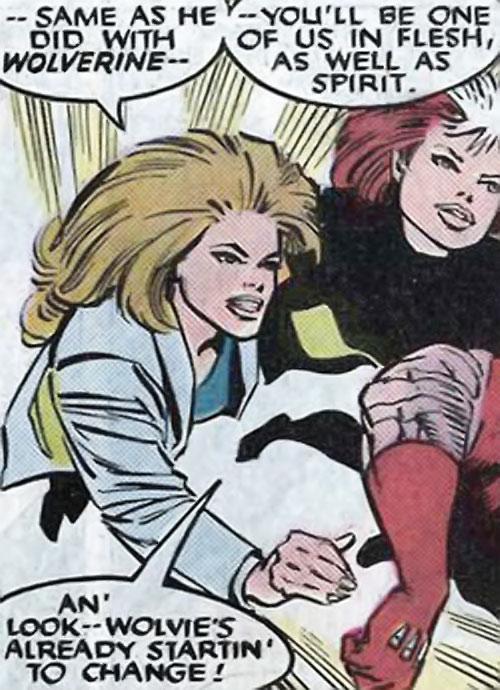 Brood Mutants (X-Men enemies) (Marvel Comics) Temptress