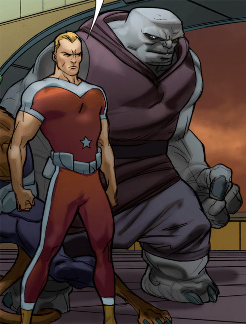 Broot of the Omega Men and Adam Strange (DC Comics)
